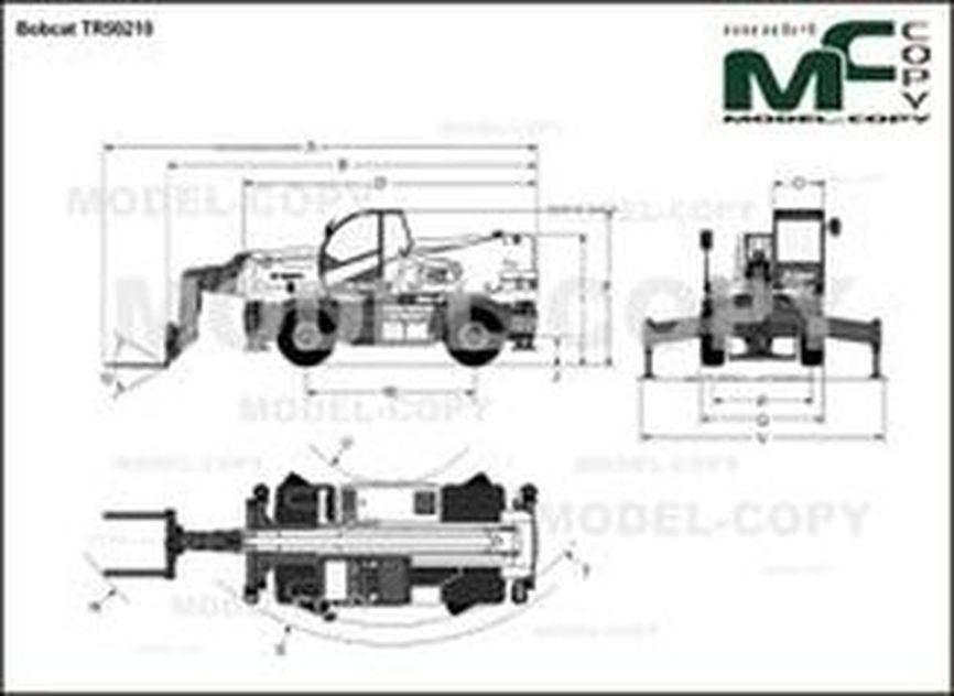 Bobcat TR50210 - drawing