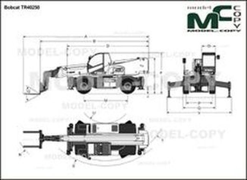 Bobcat TR40250 - drawing