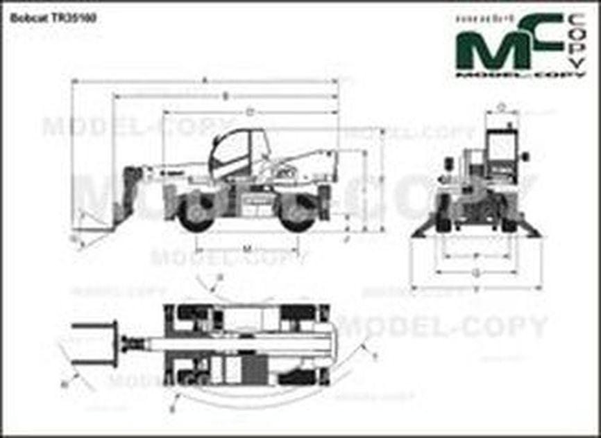 Bobcat TR35160 - drawing