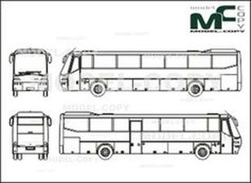 Bova Futura FL 13 - 2D drawing (blueprints)