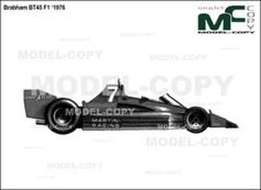 Brabham BT45 F1 '1976 - drawing