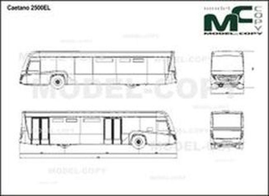 Caetano 2500EL - drawing