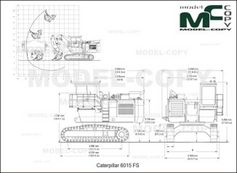 caterpillar 6015 fs - drawing - 23406