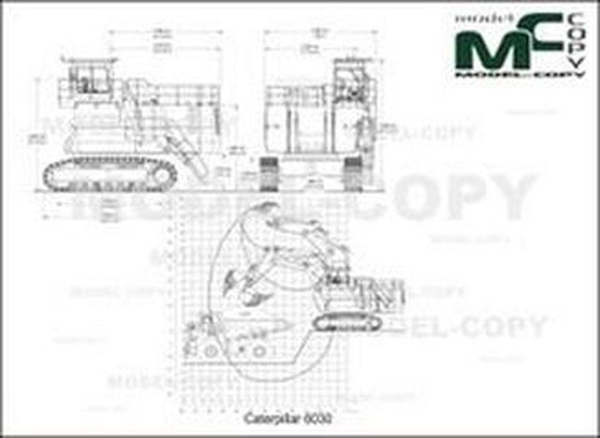 Caterpillar 6030 - drawing