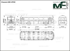 Chausson AGB  APH52 - drawing
