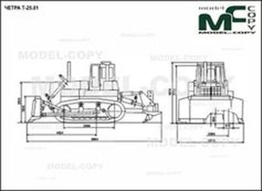 CHETRA T-25.01 - 2D drawing (blueprints)