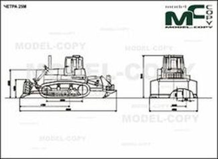 CHETRA 25M - 2D drawing (blueprints)