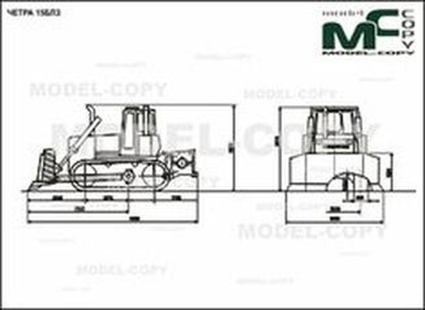 CHETRA 15BLZ - 2D drawing (blueprints)