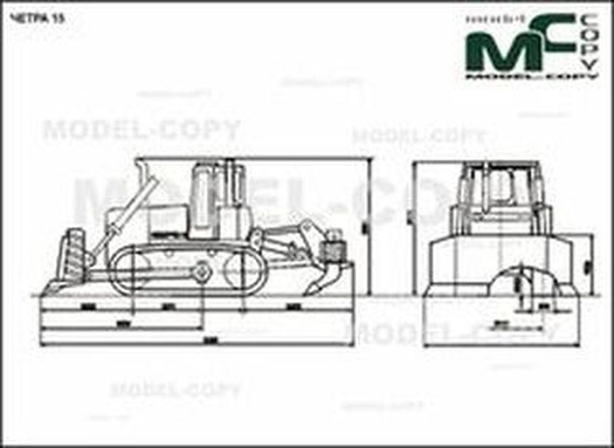 CHETRA 15 - 2D drawing (blueprints)