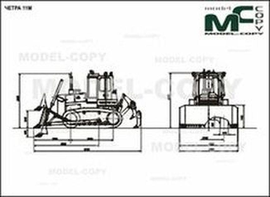 CHETRA 11M - 2D drawing (blueprints)