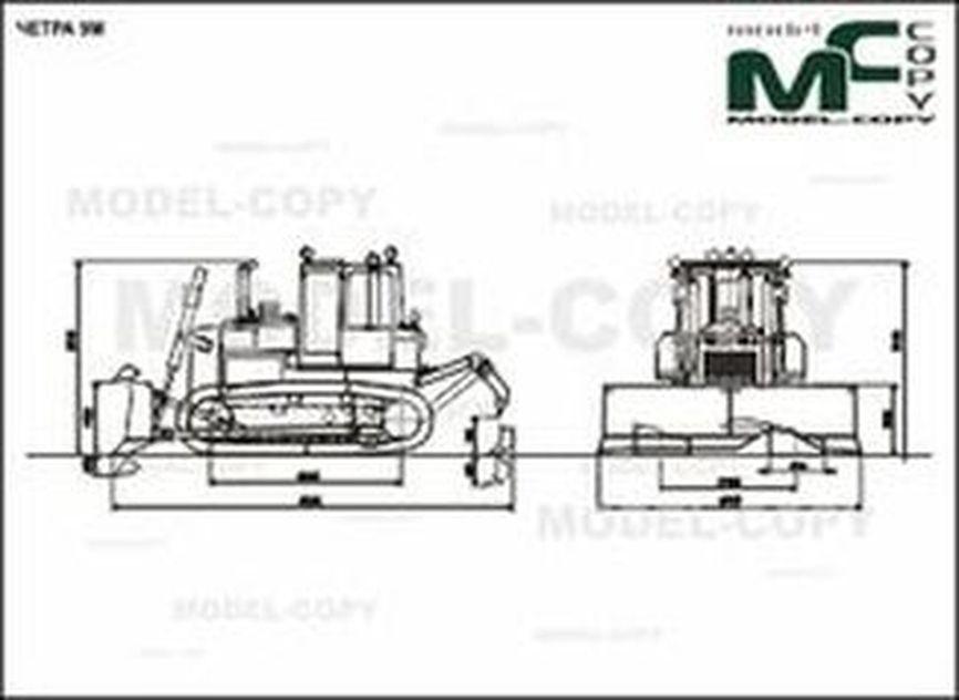 CHETRA 9M - 2D drawing (blueprints)