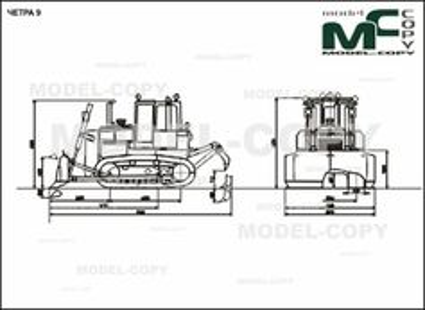 CHETRA 9 - 2D drawing (blueprints)