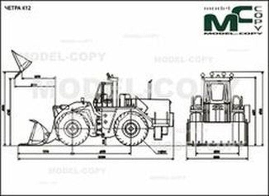 CHETRA C12 - 2D drawing (blueprints)