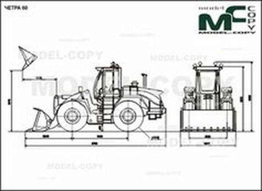 CHETRA 60 - 2D drawing (blueprints)