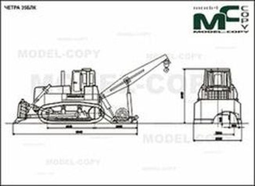 CHETRA 35BLK - 2D drawing (blueprints)