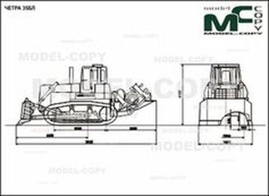 CHETRA 35BL - 2D drawing (blueprints)