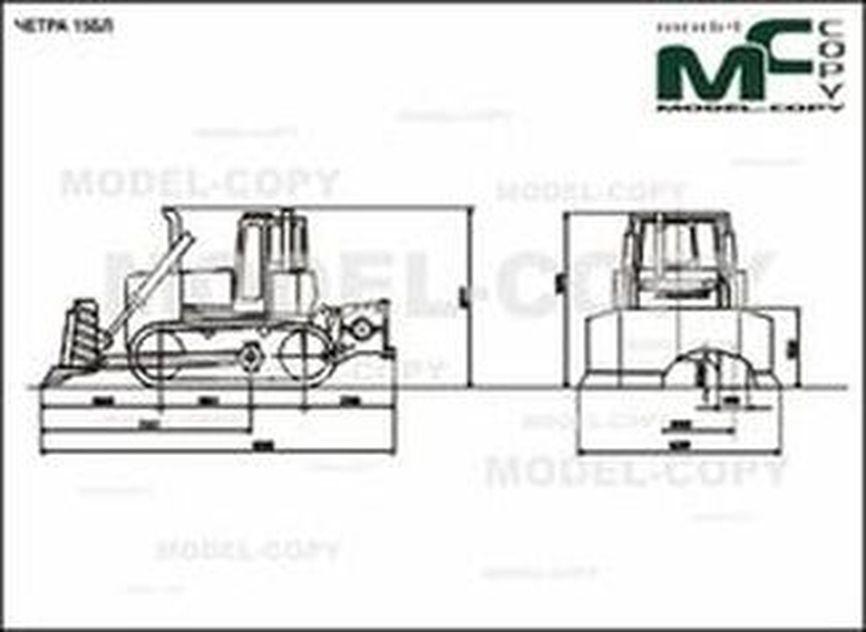 CHETRA 15BL - 2D drawing (blueprints)