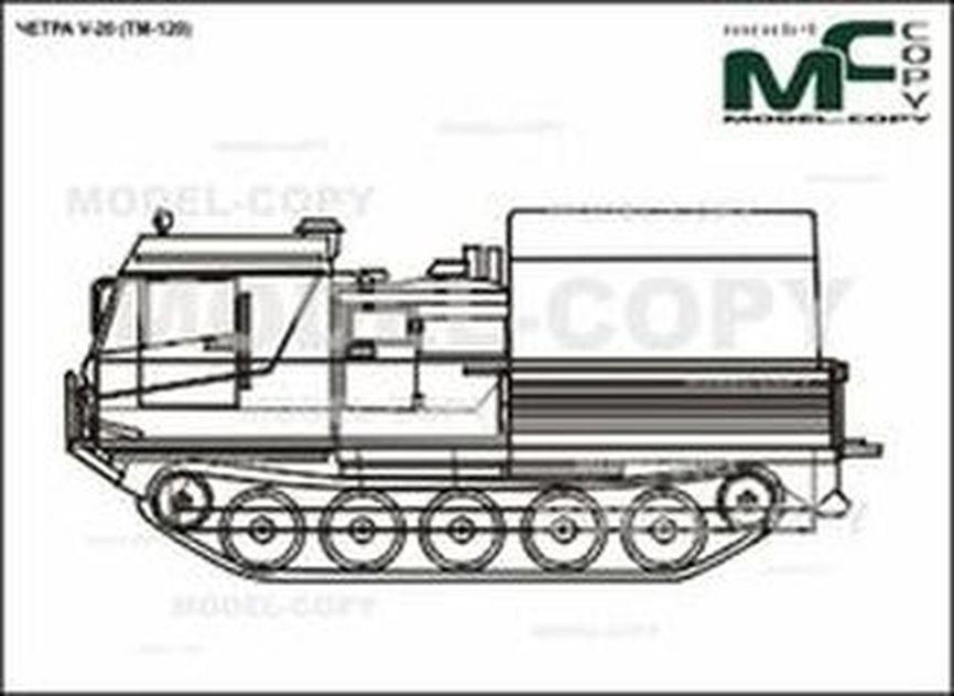 CHETRA V-20 - 2D drawing (blueprints)