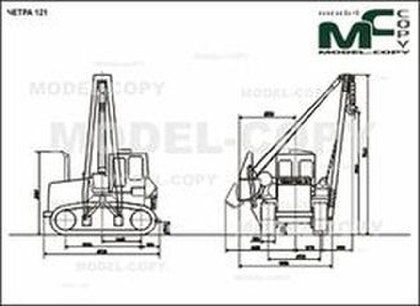 CHETRA 121 - 2D drawing (blueprints)