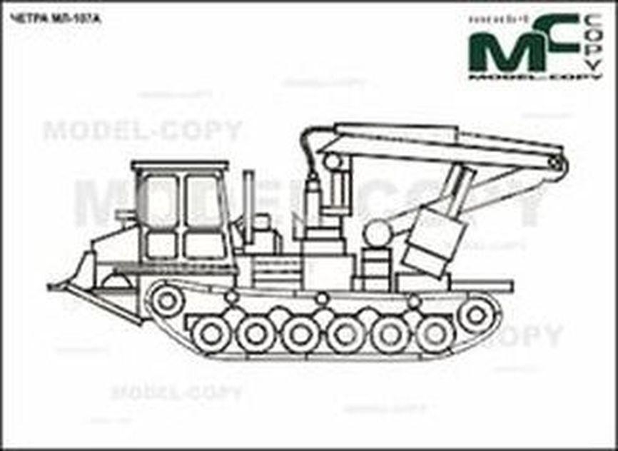 CHETRA ML-107A - 2D drawing (blueprints)