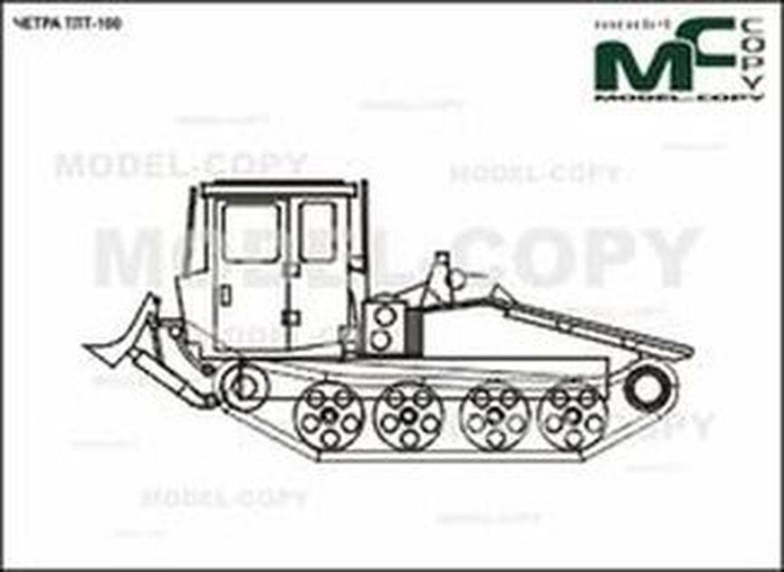 CHETRA TLT-100 - 2D drawing (blueprints)