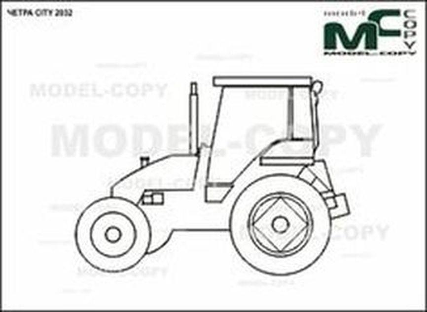 CHETRA CITY 2032 - 2D drawing (blueprints)