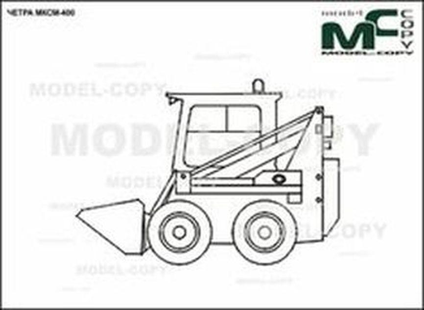 CHETRA MKSM-400 - 2D drawing (blueprints)