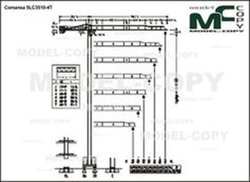Comansa 5LC3510-4T - drawing