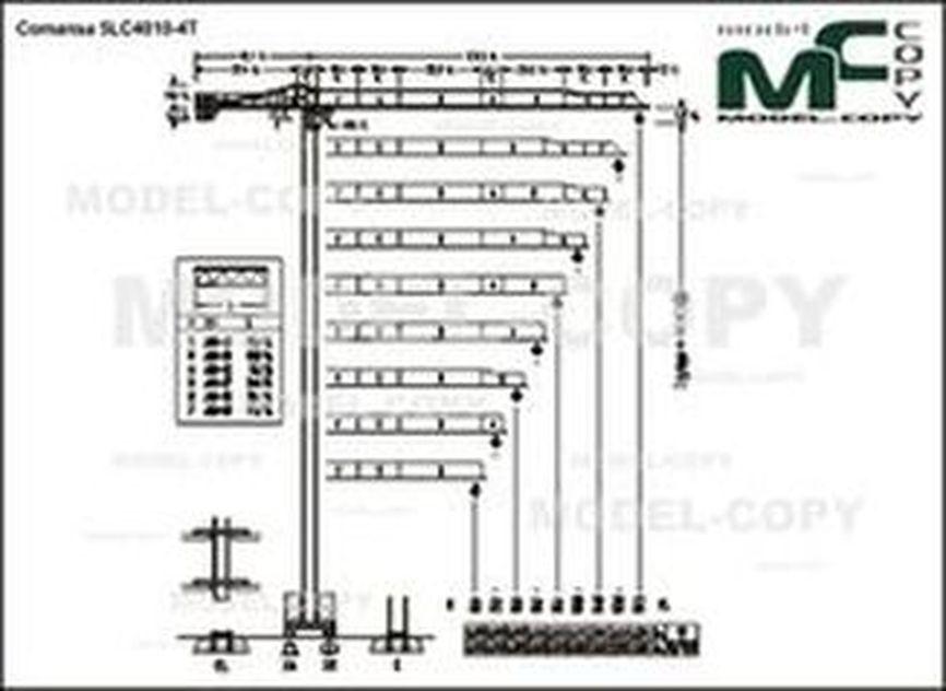 Comansa 5LC4010-4T - drawing