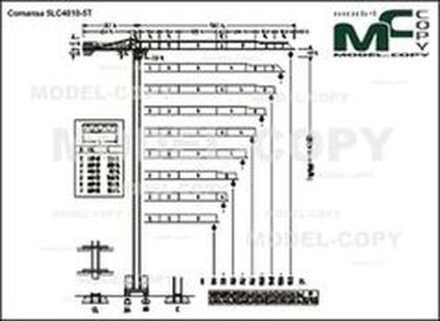 Comansa 5LC4010-5T - drawing