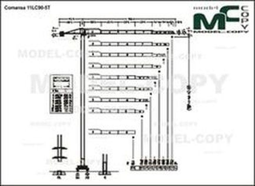 Comansa 11LC90-5T - drawing