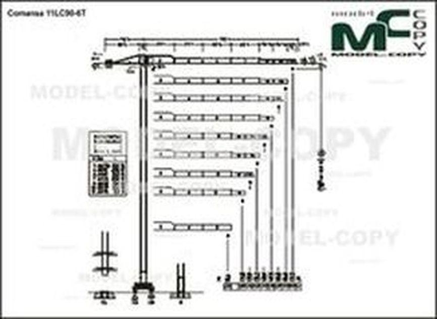 Comansa 11LC90-6T - drawing