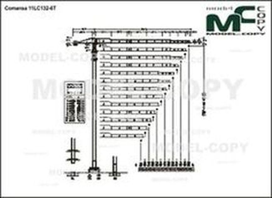 Comansa 11LC132-6T - drawing
