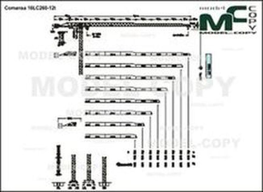 Comansa 16LC260-12t - drawing
