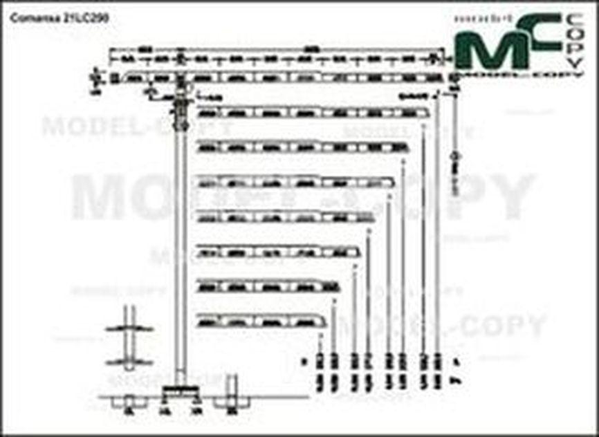 Comansa 21LC290 - disegno