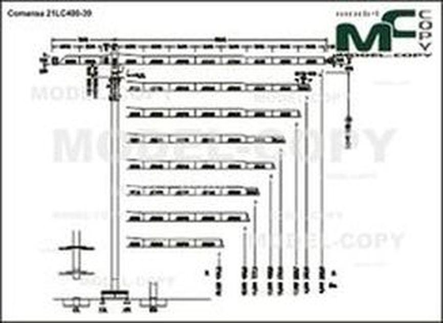 Comansa 21LC400-39 - drawing