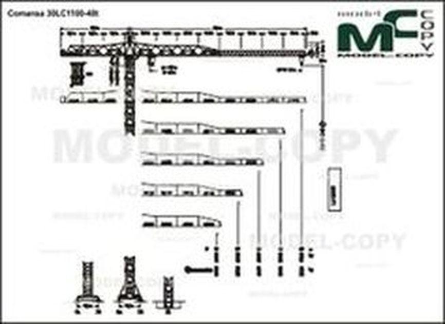 Comansa 30LC1100-48t - drawing