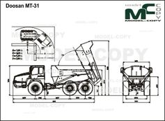 Doosan MT-31 - 2D drawing (blueprints)