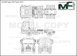 Ford BR Cargo 1933 Tractor '2012 - 2D drawing (blueprints)