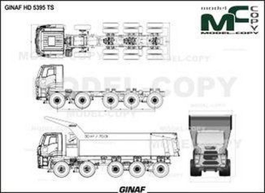 GINAF HD 5395 TS - drawing