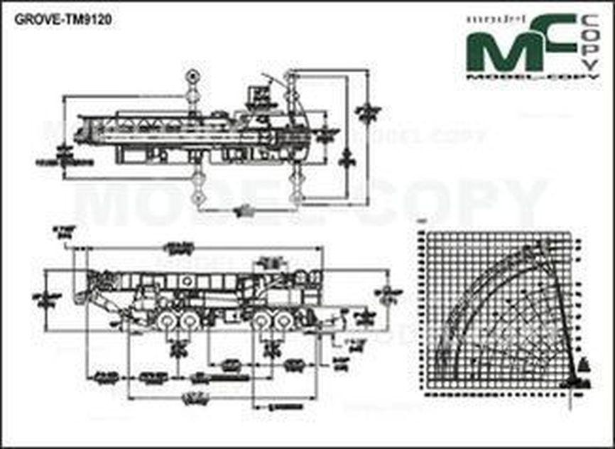 GROVE-TM9120 - 2D drawing (blueprints)