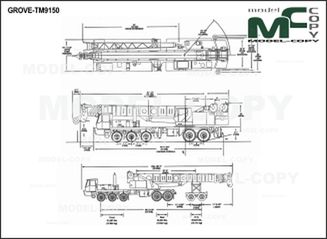 GROVE-TM9150 - 2D drawing (blueprints)
