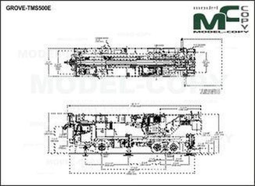 GROVE-TMS500E - 2D drawing (blueprints)
