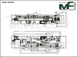 GROVE TMS700E - drawing