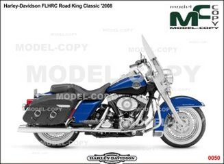Harley-Davidson FLHRC Road King Classic '2008 - tegning