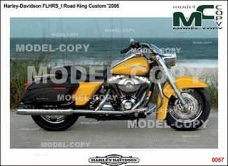 Harley-Davidson FLHRS_I Road King Custom '2006 - drawing