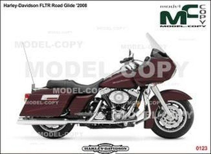 Harley-Davidson FLTR Road Glide '2008 - 2D drawing (blueprints)