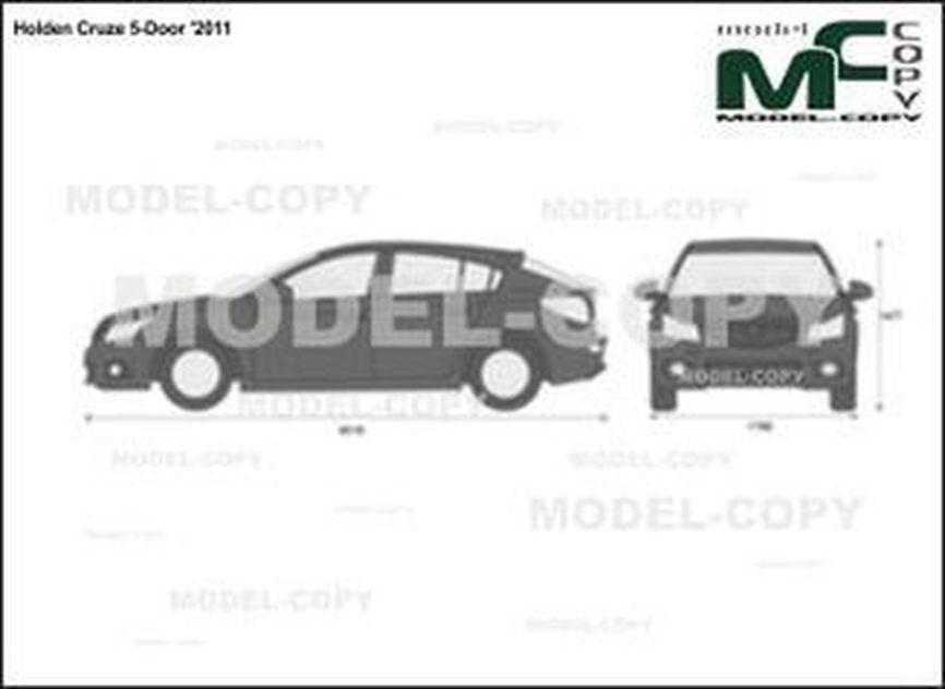 Holden Cruze 5-Door '2011 - 2D図面