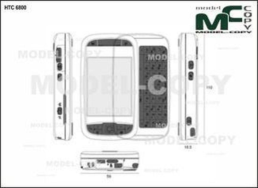 HTC 6800 - drawing