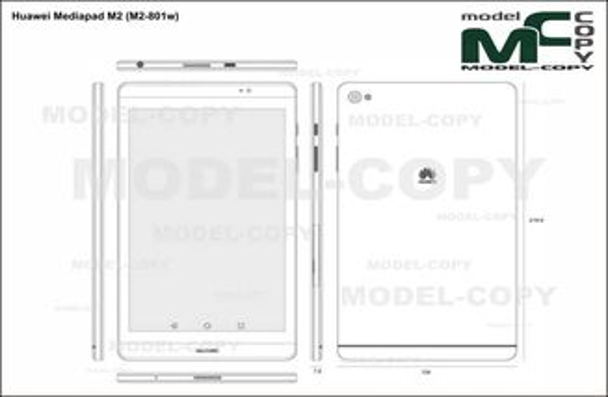 Huawei Mediapad M2 (M2-801w) - drawing